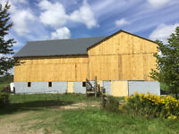 BARN PAINTING,STEEL ROOFING AND BARN REPAIRS