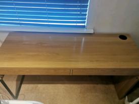 IKEA oak desk