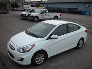 2013 Hyundai Accent Sedan Air Conditioning Bluetooth
