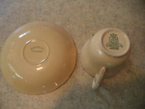 GRINDLEY YELLOW TEA CUP AND SAUCER Windsor Region Ontario image 1