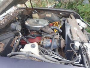 1969 430cid 360hp Buick engine and transmission running