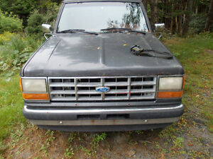 1990 Ford Ranger XLT Pickup Truck fix it up etc