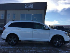 2015 DODGE JOURNEY LTHR, BLTTH, SNROOF