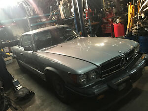 Mercedes 1977 450SLC pour pieces for parts