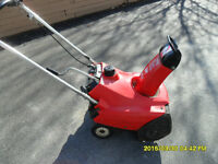 Honda HS35 Snow blower – single stage – 4 stroke