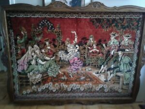 Spanish wall tapestry
