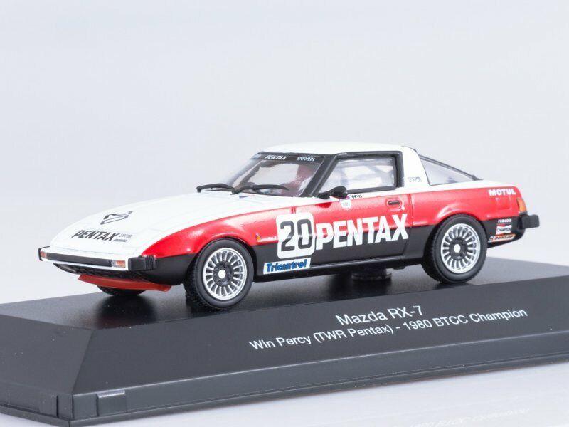 Mazda RX-7 BTCC Champion 1980 #20 Win Percy TWR Pentax 1:43