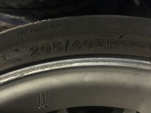 "17"" MSR rims and tires Windsor Region Ontario image 3"