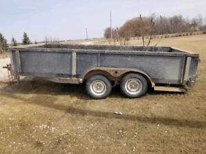 16 ft fladeck trailer
