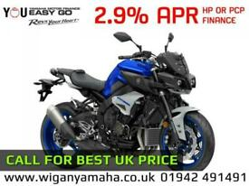 YAMAHA MT-10, 2020 MODEL 0 MILES, ICON BLUE, ICE FLUO OR TECH BLACK...