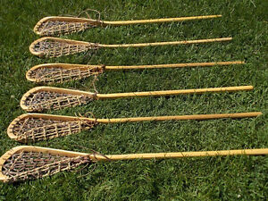 Vintage Wooden Lacrosse Sticks (2 remaining) London Ontario image 1