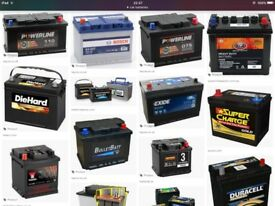 £5 + car battery batteries van lorry