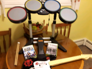 XBOX360 ROCK BAND AND GAMES