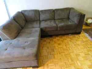 Sectional sofa/dining set
