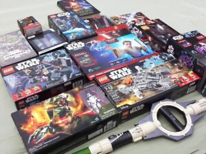 Large STAR WARS Collection Mostly NEW In Boxes LEGO & More..OBO