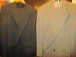 Two Burberry London Prorsum Suits Mens