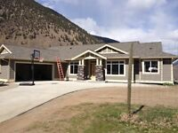 Okanagan/Similkameen 4.90 acres with Brand New Home