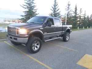2005 Ford F350 Lariat lifted