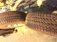 Mitsubishi shogun pajero tyres