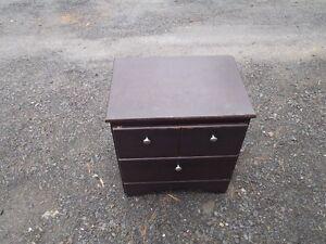 Two Drawer Bedside Cabinet