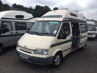 FORD TRANSIT 2.5 DIESEL DUETTO AUTOSLEEPER