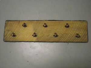 Hand Made Antique Copper Cable & Brass Sprinkler Head Coat Rack