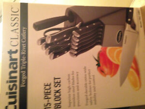 Cuisinart 15pc. Knife Block Set