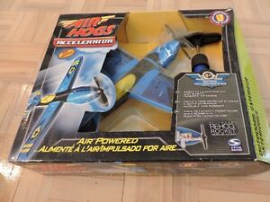 NEW AIR HOGS ACCELERATOR AIR POWERED NEVER USED