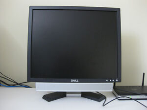 Dell monitor w/ mouse