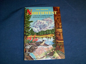 THE PACIFIC NORTHWEST-GOLDEN REGIONAL GUIDE-1959-VINTAGE!
