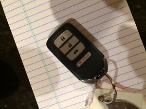 2013 Honda Accord Keyless Entry Fob