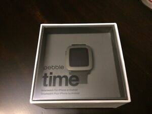 Pebble Time, Brand New, 90 Day Warranty