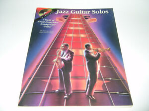 Jazz Guitar Solos - Partitions de musique