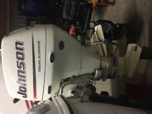 9.9 JOHNSON 4-STROKE LONG SHAFT OUTBOARD