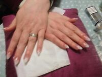 Trainee acrylic nails £10