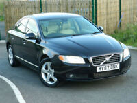 2007 57 Reg VOLVO S80 2.4 D5 SE AUTO GEARTRONIC WITH XENONS+LEATHER+PDC+FSH++