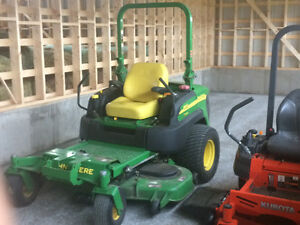 JOHN DEERE 997 ZERO TURN DIESEL MOWER