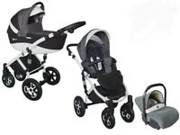 Pram 3 in 1 immaculate condition