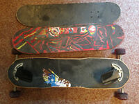 Freeboard and skate boards for sale