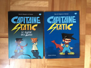 2 livres Capitain Static