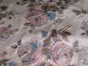 Bolt of suede furniture cloth floral print Kawartha Lakes Peterborough Area image 3
