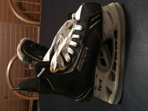 Bauer One.9  Size 1D  with Superfeet