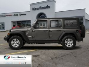 2018 Jeep Wrangler Unlimited Sahara 4x4  - Leather Seats - $319.