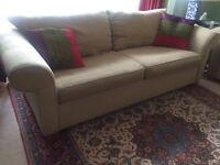 3 seater sofa with 2 armchairs