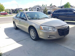 Chrysler 2004 low kms and new starter plus battery