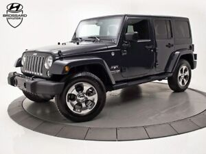2018 Jeep Wrangler UNLIMITED SAHARA AWD