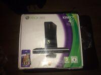 X box 360 kinect 4GB