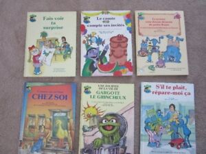 Sesame Street French Books