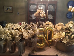 Decoration for 50th Wedding Anniversary best offer London Ontario image 1