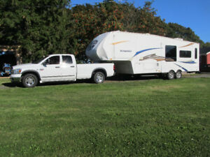 Package - 2010 Sundance 5th Wheel & 2007 Dodge Ram 2500 Cummins